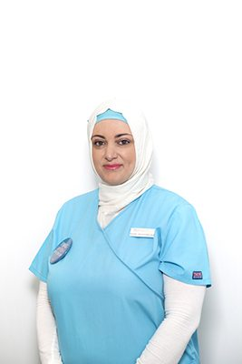 Registered Nurse Saliha Can